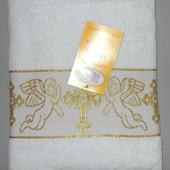 Крыжма полотенце для крещения младенца 140 x 70 см