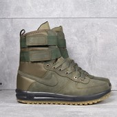Кроссовки Nike Air Force Lunar green high, р. 40-44, код mvvk-1051Н