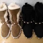 Зимние сапоги Gucci