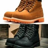 Ботинки Timberland 6 premium boot на меху, р. 40-44, код kv-3194