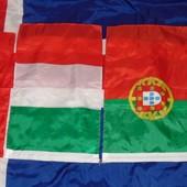 Фирменние флаги флажки .