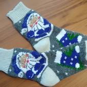 Зимові чоловічі носочки