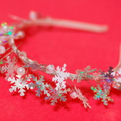 Обруч Ободок Снежинка под костюм Снежинки на утренник