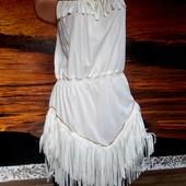 Платье маскарадное стиль Чикаго, чарльстон 46-48 размер