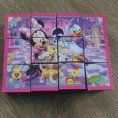 Кубики-пазлы с картинками Disney
