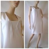 новое женское платье футляр белое