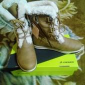 Зимние сапожки-ботинки фирмы Demix