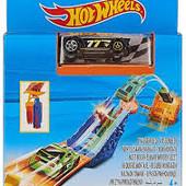 Hot Wheels Bullseye Blast Play Set трек пускатель машинка оригинал хот вилс
