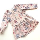 12-18 Zara фактурное платье туника