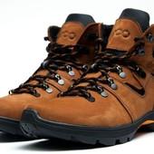 Ботинки Ecco зима на меху, р. 40-45, код kv-3844