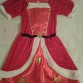 Продам нарядное платье Подружка Санты девочке 110-116.