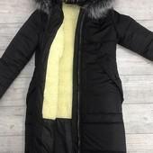 Размеры 42-54 Теплая зимняя женская куртка Два цвета