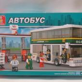 конструктор Sluban M38-B0331 «Двухэтажный автобус»