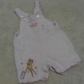 Классный песочник Disney на малышку 3-6 месяцев