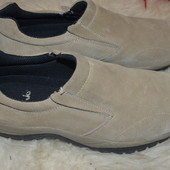 Замшевые туфли Clarks 41 р., 26 см