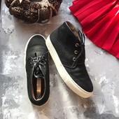 Крутые натуральные кеды ботинки Office рр 39-40