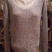 Теплый свитерок на пышную леди Tailly Weijl.Голландия.Размер-50.уп-25