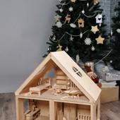 Кукольный дом и мебель для Барби!!!