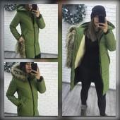 Женская куртка на меху 42-54