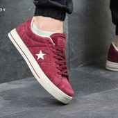 Кеды мужские Converse All Star burgundy