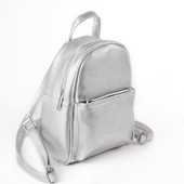 Мини рюкзак серебро Луцк качество