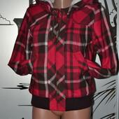 сток куртка зимняя на меху шерсть капюшонка женская