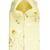 Конверт-одеяло для новорожденного зимний