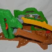 фироменный огромный трек спуск железная дорога паравозик томас Thomas & Friends TOMY