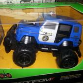 Машина р/у на аккумуляторах металлическая Автопром 8801A, 8802 А