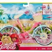 Велосипед Барби DVX55 оригинал от Mattel