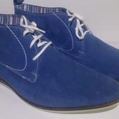 Ботинки мужские, натуральный замш, Venturini