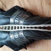 Кожаные фирменные спортивные туфли Bikkembergs р.43-28см.