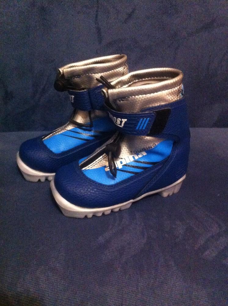 Лыжные беговые ботинки alpina frost touring jr (р.26) фото №1