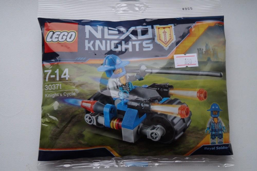 Конструктор lego nexo knights 30371 мотоцикл рыцаря фото №1