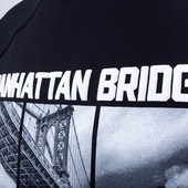 Свитшот Liberty - Manhattan bridge, Black