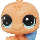 Littlest Pet Shop Shyly seashore #52 от Hasbro равлик улитка пет шоп