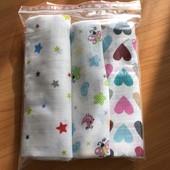Муслиновые пеленки для мальчиков и девочек