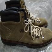 Фирменные кожаные ботинки 41 р Rieker