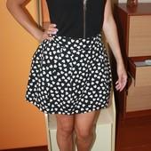 красивая юбка в сердечки