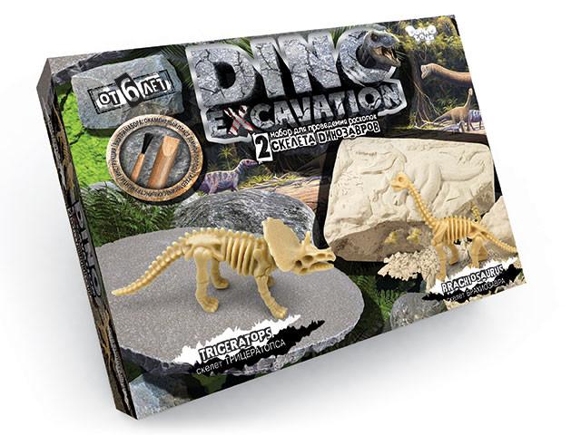 Набор для проведения раскопок dino excavation 01-01 фото №1