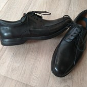Кожаные туфли Clarks новом сост 1раз одеты, 7G