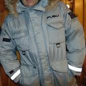 Брендовая стильная курточка пуховик Fubu. Apparel хл-2хл .