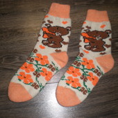 зимние теплые носочки