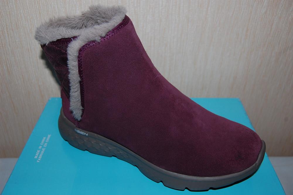 Акция. новые зимние ботинки,угги skechers р. 36 фото №1