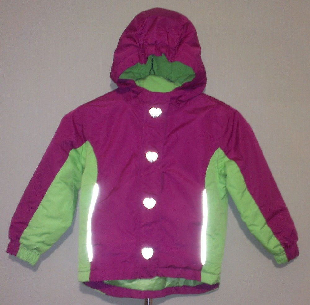 Р.98-104, лыжная термо-куртка фото №1