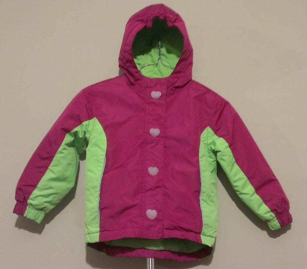 Р.98-104, лыжная термо-куртка фото №2