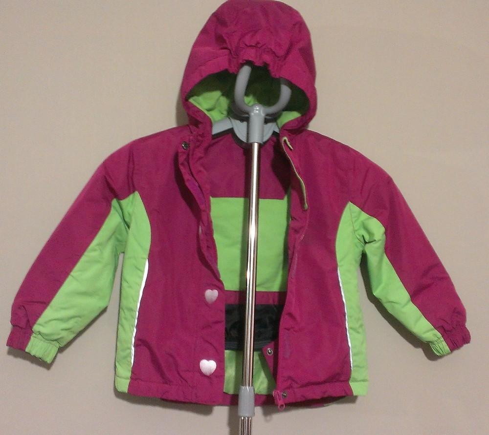 Р.98-104, лыжная термо-куртка фото №4