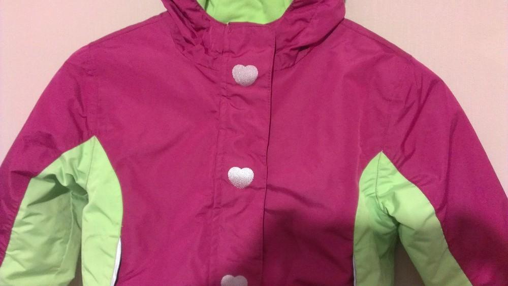 Р.98-104, лыжная термо-куртка фото №6