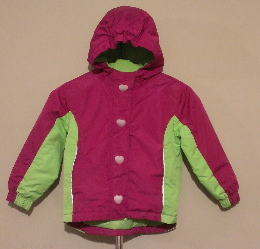 Р.98-104, лыжная термо-куртка фото №8