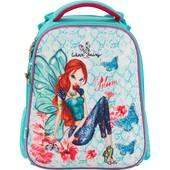 Рюкзак школьный каркасный 531 Winx fairy couture